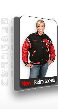 New! Retro Jackets