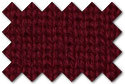 Crimson Red knit trim