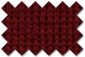 Dark Cardinal Red knit trim