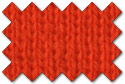 Orange knit trim