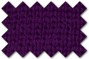 Purple knit trim